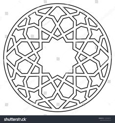 In the Shutterstock collection, you can find HD quality Ottoman Period Vector Motif Drawing themed s Stencil Patterns, Stencil Designs, Pattern Art, Islamic Motifs, Islamic Art Pattern, Abstract Drawings, Abstract Art, Motif Arabesque, Motif Oriental