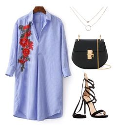 """81"" by ddaisiee on Polyvore featuring Liliana and Chloé"