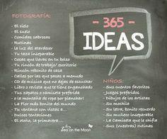 proyecto 365 ideas para fotografiar