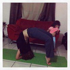 Poco a poco #yoga arco
