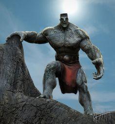 Stone Golem #character #stone #golem