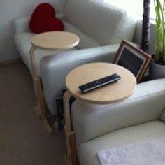 www.miaikea.com - Sgabello Ikea Frosta trasformato in un tavolino