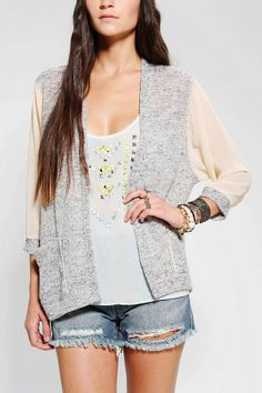 Silence + Noise Chiffon Cardigan (tons of different colors) - UO
