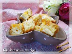 Cake chèvre, abricots secs, thym - sans gluten