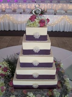 bling purple and lavender wedding cakes | purple and silver wedding invitations | Reference For Wedding ...