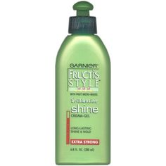 Garnier Fructis Style Brilliantine Shine Cream-Gel Extra Strong 6.8 fl. Oz ** This is an Amazon Affiliate link. Click image for more details.