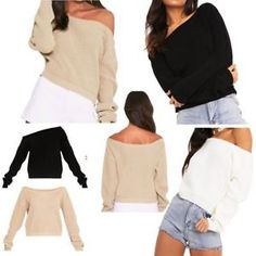 Imagen relacionada Oversized Jumper, Long Sleeve, Sleeves, Shopping, Tops, Women, Fashion, Blouses, Woman