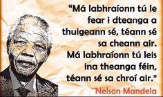 Nelson Mandela Irish Drinks, Irish Language, Dna Genealogy, Irish Culture, Irish American, Irish Traditions, Irish Recipes, Nelson Mandela, Ireland