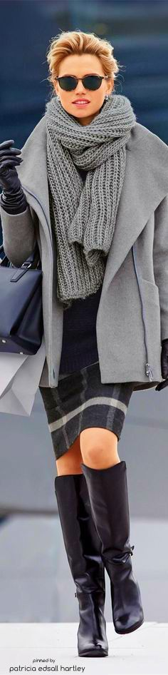 Keeping warm on the daily commute...layer, layer, layer!