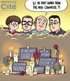 """RT""""@NouvelleCiteEd: Hommage à nos confrères de #CharlieHebdo """""""