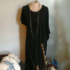 Michael Kors NWOT ASYMMETRIC DRESS Black ASYMMETRIC sleeve drape dress Michael Kors Dresses