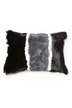 Jocelyn's contemporary fur collection has cozy, chic sensibility with casual fashion forward street style, and a touch of glam. Fur Pillow, Throw Pillows, Home Collections, Fashion Forward, Rabbit, Vogue, Long Hair Styles, Blanket, In Trend