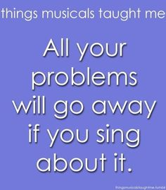 Not true. Les Mis proved that.