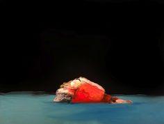 Mo – Joseba Eskubi - S/T - óleo sobre papel - 45,5 x 55cm (con marco) #contemporary #art #exhibition