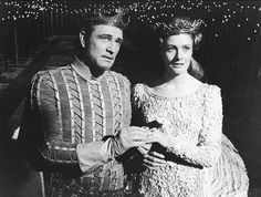 Camelot the movie with Richard Harris and Vanessa Redgrave. I saw it in the 60's when it first came out and I thought it was so beautiful!