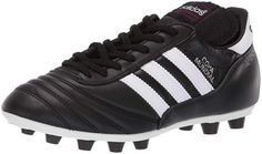 adidas Performance Men's Copa Mundial Soccer Shoe - The men's Copa Mundial soccer boots have been running the beautiful game since the late and this version is just as skilled as ever. They have a full grain leather upper and a durable firm groun. Best Football Cleats, Men's Football, Football Boots, Mundial Football, Adidas Shoes, Adidas Men, Black Shoes, Men's Shoes, Shoes Style