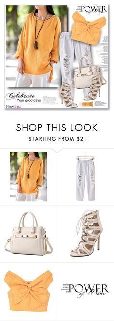 """""""NewChic66"""" by sneky ❤ liked on Polyvore featuring MANGO and Lancôme"""