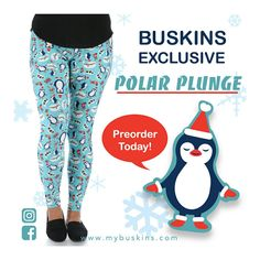 Order your today!! Always FREE shipping!🐧❤️💚 *sizes One Size, Plus, Kids and Infants   LeggigLife87.mybuskins.com