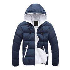 Fashion Men's Winter Hooded Thick Padded Jacket Zipper Slim Outwear Coat Warm http://ift.tt/1M28XjX