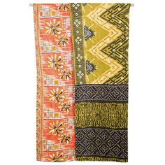Kantha Quilted Recycled Sari Throw - Summer Loves
