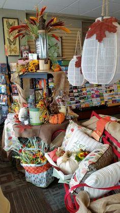Fall Window Display- Sawyer St. Oshkosh Autumn Displays, Window, Store, Fall, Autumn, Fall Season, Windows, Larger, Shop