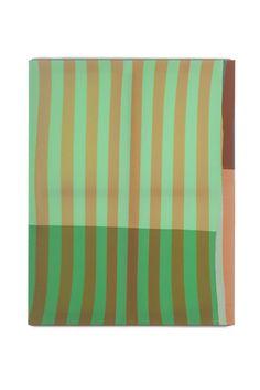 Palette 016, 91 x 116 x 2.7cm, fabric on canvas, 2014© Yunji Jang