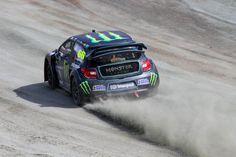 Monster Energy LD Motorsport's Liam Doran kicks up some dust. #RX // #RXUnleashed www.rallycrossrx.com