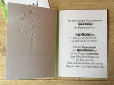 Dieser Patenbrief ist wirklich ein kleiner Hingucker. Der Patenbrief DIN A5 ist aufklappbar und wird auf der Vorderseite mit einem Baum des Lebens geprägt. Diesen Baum können Sie also auch...