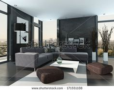 Luxury Modern Interiors Stock Photos, Images, & Pictures | Shutterstock