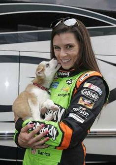 danica patrick michigan | Danica Patrick says her miniature Siberian husky puppy, Dallas, 'gives ...