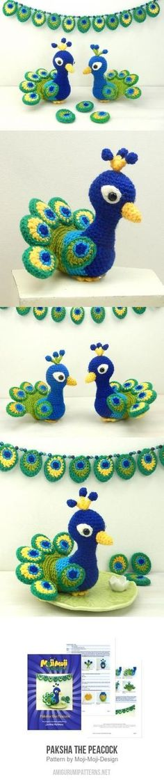 Paksha The Peacock Amigurumi Pattern
