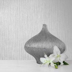 Muriva Texture Lustre Grey Wallpaper