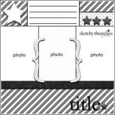 3/24 sketch - Sketchy Thursday 3 photos, single page