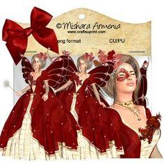 Angelique Red Rococo