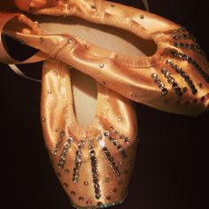Decorated my old pointe shoes