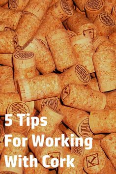 Do you like working with cork in your crafts? Here are my top five tips for being successful.