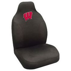 Wisconsin Badgers NCAA Polyester Embroidered Seat Cover