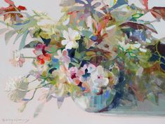 Erin Gregory, Artist Gallery, Watercolor Flowers, Contemporary Artists, Painting Inspiration, Painting & Drawing, Artsy, In This Moment, Fine Art