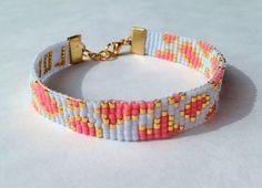 Beadwoven leopardprint bracelet par LYCKAjewelry sur Etsy