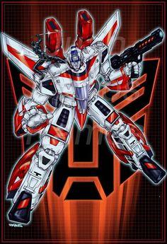 Transformers - Skyfire by Juan Carlos Ramos Comic Book Characters, Comic Books Art, Comic Art, Transformers Autobots, Transformers Characters, Gi Joe, Geeks, Transformers Generation 1, Aliens