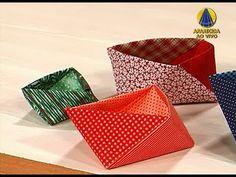 Sabor de Vida | Caixa de Origami em Tecido - 22 de Março de 2013