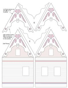 Samples from my downloadable Printable Quarter Scale Dollhouse. La Petite Maison. http://papercraftsite.com https://www.etsy.com/shop/DollHousePrinties