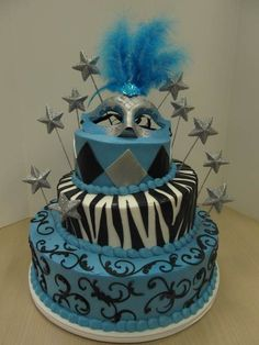 Ontario Bakery- Love the tiered cake with zebra and the stars coming out that really adds some cute pizazz =)