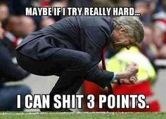 AGAINST Liverpool, City or United... Premier League humor ... ;)