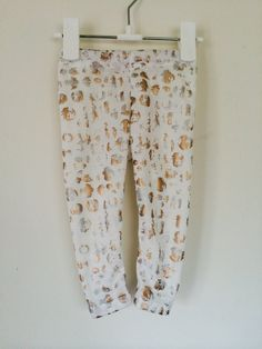 Gold & Silver Foil Print Baby Leggings, Toddler Leggings, Printed Leggings, Leggings, Baby Leggings on Etsy, $11.03 AUD