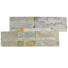 "Found it at Wayfair - Piedro 7"" X 13.5"" Natural Stone Splitface Tile in Beige"