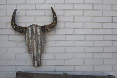 Wall Art- I could do this out of corrugated metal too