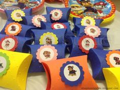 Festa compleanno Paw Patrol - Let's party with Paw Patrol! Paw Patrol Birthday Decorations, 4th Birthday, Birthday Parties, Minion Party, Paw Patrol Party, Baby Pictures, Birthdays, Holiday Decor, Gabriel