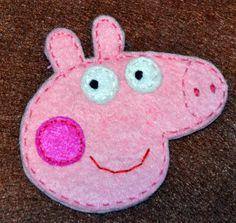 Broche Peppa Pig preparar para cumple