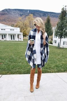 Loving the over the knee boots!